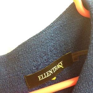 Ellen Tracy Dresses - Ellen Tracy Pointe Sheath Dress 12 blue